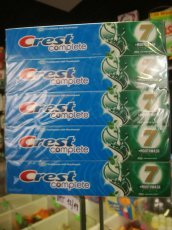 "Crest Complete ""7"" 2in1  50ml/63g"