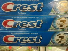 Crest 7 Complete Extra Fresh 50ml/63g