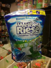 Weisser Riese -universal duo kapsle 40pd 800g