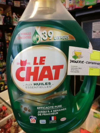 LE CHAT AUX HUILES 39 PD 1,95l prací gel