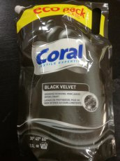 Coral black velvet gel 25pd 1,5l