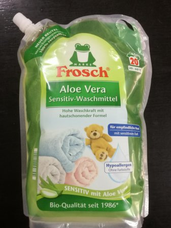 Frosch Bio gel 20 pd Sensitive s Aloe Vera 1,8 l
