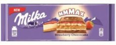 Milka čokoláda Strawberry chees cake 300g