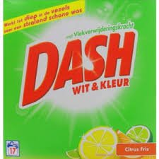Dash wit & kleur 1.156kg White & Colour Citrus Fresh 17 pd