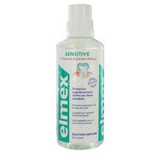 Elmex ustní voda sensitive solution dentaire sans alcool 400 ml